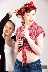 Pin Up Shooting Foto: Torben Mielke